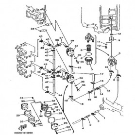 Petrol diaphragm 100 - 250 hp