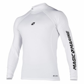 White Lycra Magic Marine