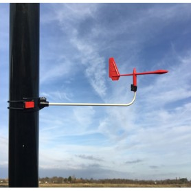 Weathervane Hawk podium Laser