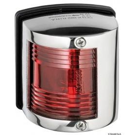 Fanale U85 inox rosso