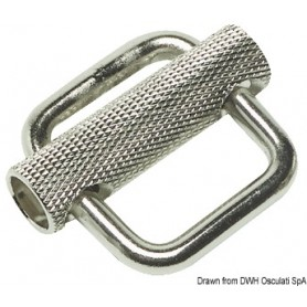 Buckle stainless steel 40mm
