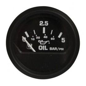 Indicator engine oil pressure