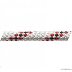 Drizza Marlow braid rossa con segnalino 8 mm