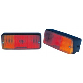 Taillight rear left number plate light