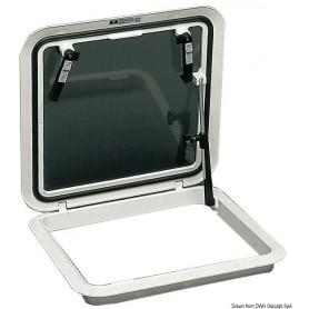 Passouomo Bomar Flushdeck bianco 480 x 480 mm