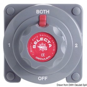 Stikalo/diverter baterija: Selecta