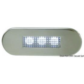 Blue LED courtesy light
