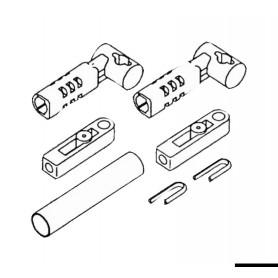 Komplet adaptacija kabeli mercury
