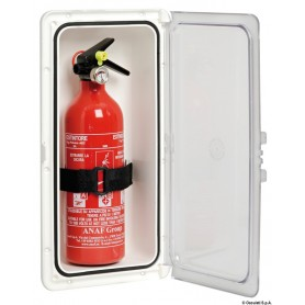 Fire extinguisher compartment