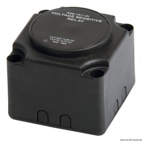 The relay is sensitive to line voltage 160A