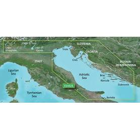 The Garmin cartography product as the northern Adriatic