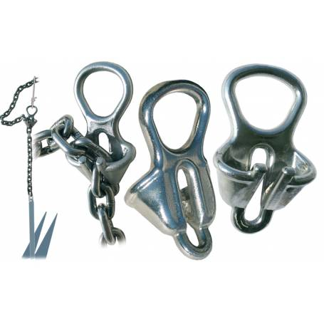 The device of the anchor and chain 6-8mm