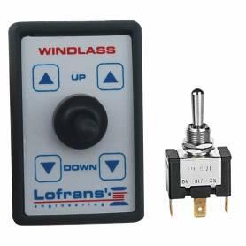 Switch anchor windlass lofrans windlass