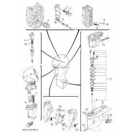 Kit riparazione pompa acqua F40G