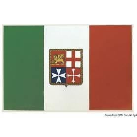 Flag sticker of italy 20 x 30 cm