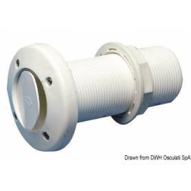 "Drain 1"" 1/2 check valve with hose connector"