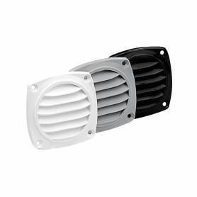 Gray ventilation grill 85x85mm