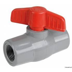 """Krogelni ventil, najlon, 3/4"""""""