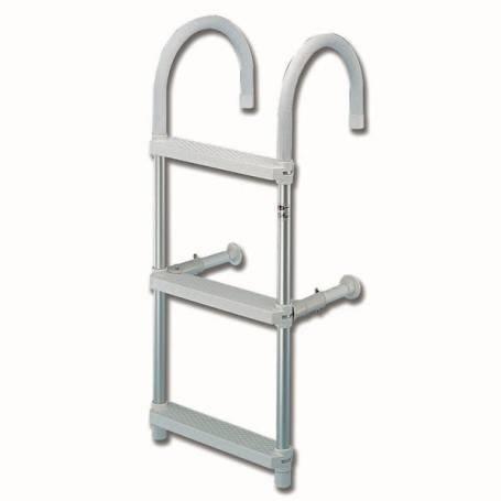 Ladder aluminum delta model curve tting, ø 18 cm.