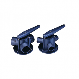 The three-way valve 25mm nylon