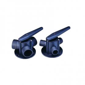 The three-way valve 25mm nylon