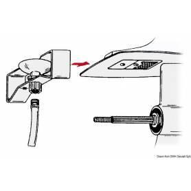 Cuffia lavaggio Mercury fino 15 hp