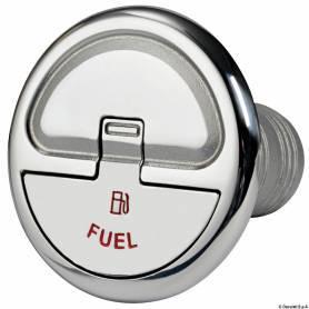 Tappo imbarco benzina dritto 38 mm