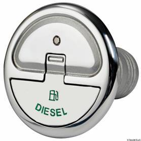 Tappo imbarco diesel 50 mm con chiave