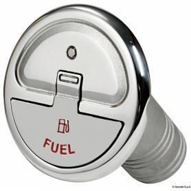Tappo imbarco benzina 30° 38 mm con chiave