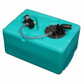 Rezervoar za vodo z vodo tlačni sistem Jabsco 57 lt