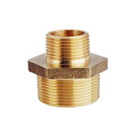 "Connection screw double brass 1/4"" x 1/8"""