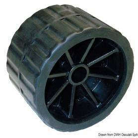 Roller side cart, hole Ø 18.5 mm