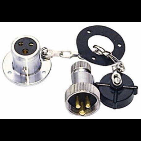 Plug watertight 2-pole 20A