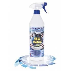 Décapage de la nouvelle magie Bleu Marine