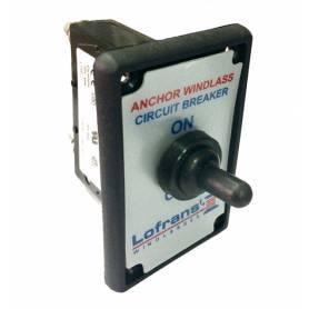 magneto-hydraulic lofrans windlass' 80A