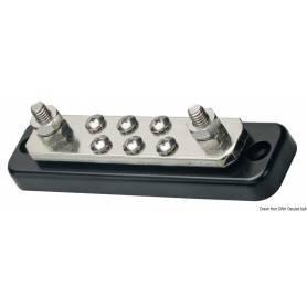 Electric terminal holder bar 2 x 8 mm