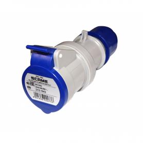 220V 16A three-pole socket