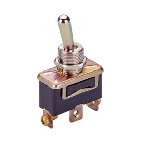 Spring return ON-OFF toggle switch