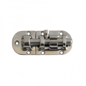 90 x 38 mm stainless steel latch