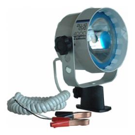 Adjustable marine watertight floodlight