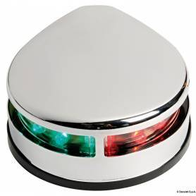 Evoled two-tone polished stainless steel light