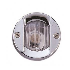 Stainless steel built-in aft light