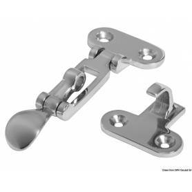 Locker closure stainless steel 110x48 mm