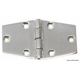 96 x 56 mm precision cast stainless steel hinge