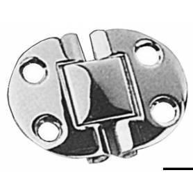 Cerniera a filo 50 x 38 mm