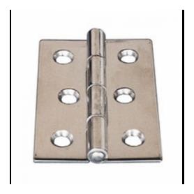 Folding hinge 60 x 30 mm