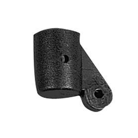Giunto ad ala plastica nero 22 mm
