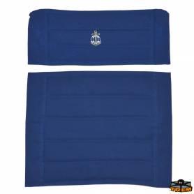 Ricambio seduta e schienale poltroncina tebe blu