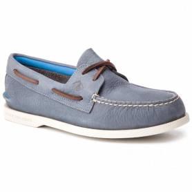A / O 2-eye plsh wsh shoes blue 42.5