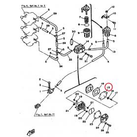 Diaframma benzina 20 - 90 hp 2 tempi
